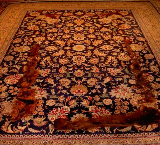 Kerestegian alfombras pasi n y orgullo familiar desde 1926 - Restauracion de alfombras ...